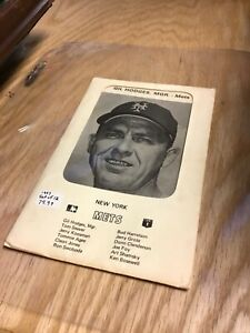 1970 New York Mets Set of 12 Black & White Photos
