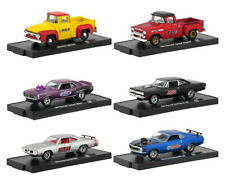 DRIVERS 6 CARS SET RELEASE 58 IN BLISTER PACKS 1/64 CARS BY M2 MACHINES 11228-58