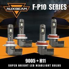 AUXBEAM 9005 H11 60W 7600LM LED Headlight Kit Bulbs for GMC Sierra 1500 07-13