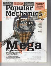 Popular Mechanics Magazine - September 2012 - Mega Engineering , 1 Trade Center