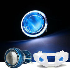 Halo Angel Blue Demon Eye Headlight For Kawasaki Ninja ZX-10R 2008 2009 2010