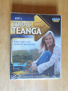 Turas Teanga : A New Multimedia Course for Learning Irish Eamonn O Donaill 2004
