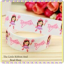 "✂1m grosgrain 7/8""(22mm) WHITE PRINCESS BALLERINA  Ribbon HAIR BOWS/CAKE DECO"