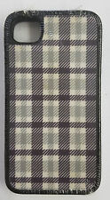 New Speck FabShell Fabric Cover Case for iPhone 4 & 4s SPK-A0942 -Green/Grey