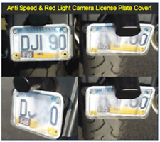 Motorcycle License Plate Cover Anti Red Light Camera & Speed Camera PhotoShield