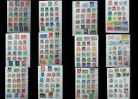 Stamp Collection Sweden Norway Denmark Finland & A Few US, Free World Shipping