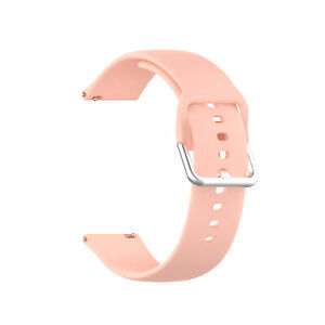 Replacement Silicone Band For Samsung Watch 3 Strap Haylou Solar LS05 Hot