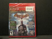 +++ BATMAN ARKHAM ASYLUM 3D Sony Playstation 3 PS3 Game NEW SEALED! +++
