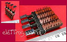 commutatore deviatore 4 pulsanti dipendenti 4 vie 4 posizioni NUOVA ELETTRONICA