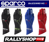 SPARCO BLIZZARD KG-3 Karthandschuh Kart Handschuhe Professionelle