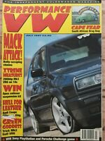 Performance VW Magazine - July 1997 - 200bhp Mk3 VR6, Audi Coupe, S. Africa Drag