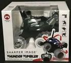 Sharper Image Thunder Tumbler Remote Control 360 Degree Spinning Car Black