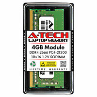 4GB PC4-21300 SODIMM Memory RAM for Dell Latitude 3380 (AA086413 Equivalent)