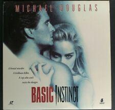 LASERDISC Basic Instinct - Michael Douglas / Sharon Stone