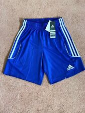 Adidas Squad 13 Mens Soccer Shorts Blue New With Tags