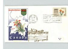 Canada, 1966 First Day of Issue, Saskatchewan, Prairie Lilly Flower