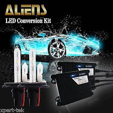 35W H4 HID Headlight High Low Dual Beam Ballasts Bulbs Kit 10000k Dark Blue (h)