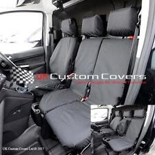 FORD TRANSIT CONNECT 2017 TAILORED & WATERPROOF FRONT SEAT COVERS - BLACK 119