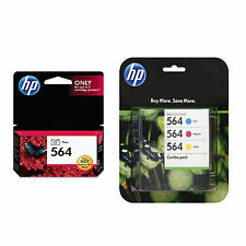 4 Pack Genuine HP 564 Set Ink Cartridges Photo Black Cyan Magenta Yellow C6324