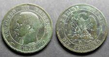 Napoléon III, 10 centimes 1855 MA