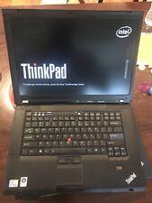 Lenovo ThinkPad Laptop T500 Core2Duo T9400 2.53GHz 4GB  RAM