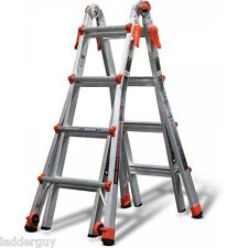17 1A Velocity Little Giant Ladder 15417-001 300lb rating w/ wheels