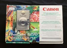 Canon PowerShot S230 Digital Elph 3.2 Mega Pixel Digital Camera