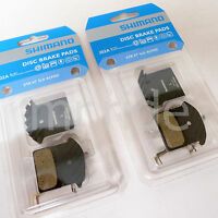 2Pair Shimano Disc Brake Pads - J02A - Ice Tec - Resin- for XTR, XT, SLX, Alfine