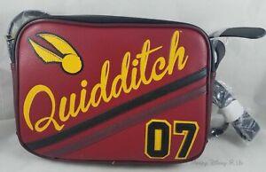 Nuovo Harry Potter Hogwarts Grifondoro Quidditch Logo Mini Volo Borsa