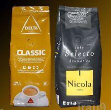 Coffee Delta Ground Caramelized & Nicola Aromatic, 2x 250g, 500g Portuguese