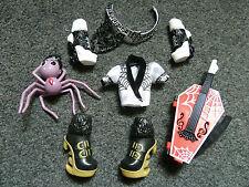 Raro Monster High 1st Wave opereta Capris Outfit & Pet Daddy O largo piernas *