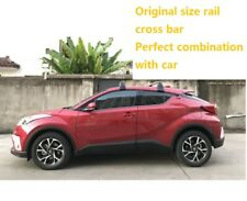 Crossbar For 2017 2018 2019 toyota CHR C-HR Removable Roof Rack Cross Rails Bar