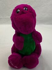 "Vintage The Lyons Group BarneyPurple Dinosaur 12"" Plush Stuffed Animal"