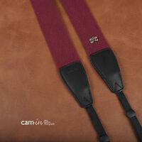 Purple Adjustable Non-slip Strong DSLR Camera Strap by Cam-in CAM1214A UK Stock