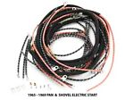 NOS style WIRING HARNESS COMPLETE for Harley 1965 - 1969 Panhead & Shovelhead