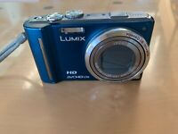 Panasonic LUMIX DMC-TZ10 12.1MP Digitalkamera - Blau