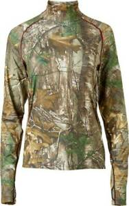 NEW Women's Field and Stream Realtree Midweight Hunting Base Layer - Pick Size