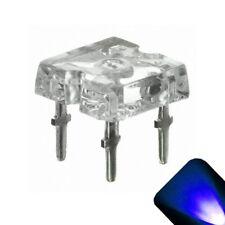 10 x Flat Piranha Blue LED Light Super Bright LEDs Ultra 3mm 5mm Tail RC Car spo