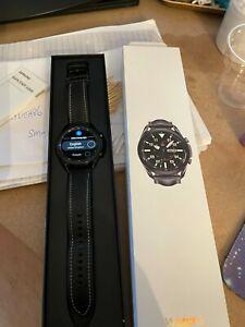 Samsung Galaxy Watch3 SM-R840 45mm  Case with Leather Strap - My