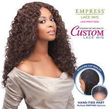 Sensationnel Synthetic Lace Front Wig Empress Edge Custom Lace Italian Curl