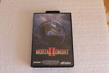 SEGA MASTER SYSTEM MORTAL KOMBAT II 2 GAME PAL A UK VERSION  100% ORIGINAL