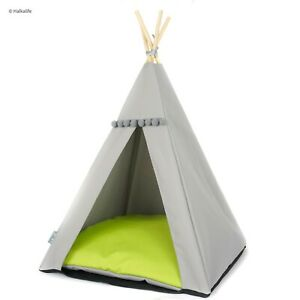 Cat Teepee bed - Lime, cat bed including pillow*luxury cat house*cat tent