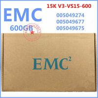"NEW EMC 005049274 005049677 005049675 600GB 3.5"" SAS 15K V3-VS15-600 HARD DRIVE"