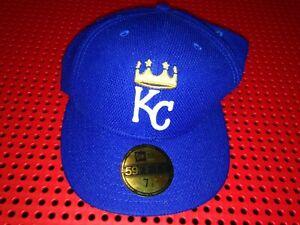 Kansas City Royals MLB Authentic New Era Diamond Era 59FIFTY Fitted Hat 7 1/8
