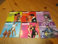 6 x Elvis Promo dvds Daily Mail Unplayed