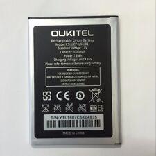 C5 - Original 2000mAh Battery Batterie Bateria for Oukitel C5 & C5 Pro