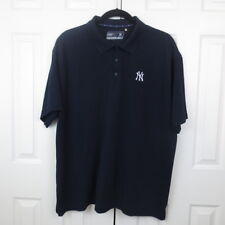 Cutter & Buck Drytec Men's Golf Polo Shirt 3XB MLB NY YANKEES Logo Embroidered