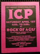 Insane Clown Posse - Mental Wrap In Store Flyer I.C.P. psychopathic records