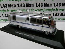 CC1 1/43 camping cars hachettes TEST ITALIE : Airstream Excella 280 turbo 1981