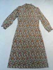 VINTAGE 1970s RETRO FLORAL PRINT HOUSE DRESS - BOHO